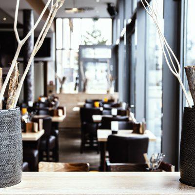 Detailaufnahme Restaurant Walldorf